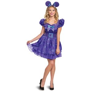 Minnie Potion Purple Deluxe Adult