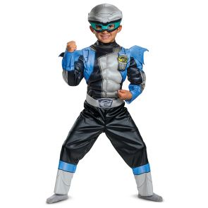 Silver Ranger Beast Morphers Toddler Muscle