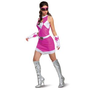 Pink Ranger Mm Deluxe Adult