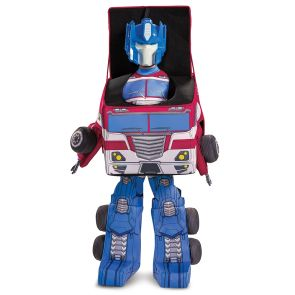 Transformers Optimus Eg Converting Costume