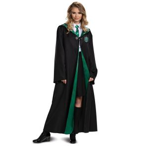 Slytherin Robe Adult Deluxe