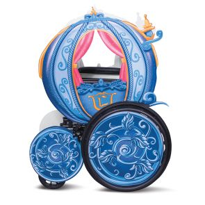 Cinderella Carriage Adaptive Wheelchair Cover