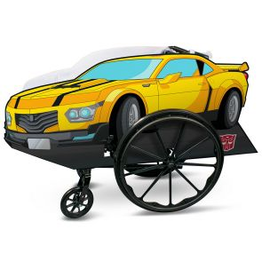 Bumblebee Adaptive Wheelchair Cover
