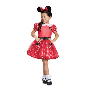 Red Minnie Mouse Toddler