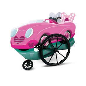 Pink Minnie Adaptive Wheelchair Cover