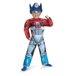 Optimus Prime Rescue Bot Toddler Muscle