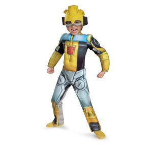 Bumblebee Rescue Bot Toddler Muscle