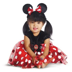 Red Minnie Deluxe Infant