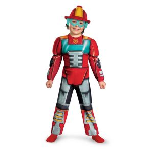 Heatwave Rescue Bot Toddler Muscle