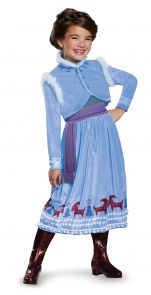 Anna Frozen Adventure Dress Deluxe