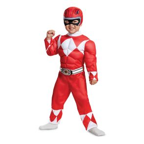 Red Ranger Toddler Muscle