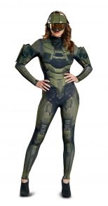 Master Chief Adult Female Deluxe