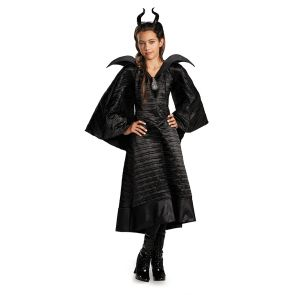 Maleficent Christening Black Gown Child Deluxe