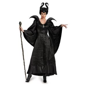 Maleficent Christening Black Gown Adult Deluxe
