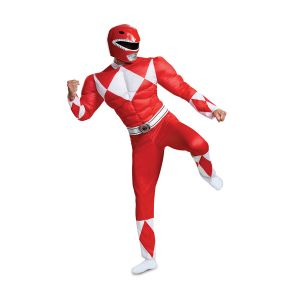 Red Ranger Classic Muscle Adult