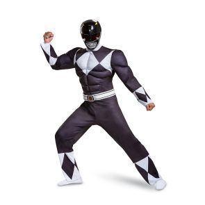 Black Ranger Classic Muscle Adult