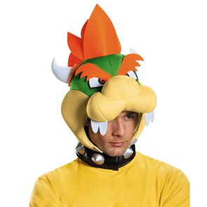 Bowser Headpiece - Adult