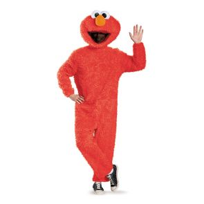 Full Plush Elmo Prestige Adult