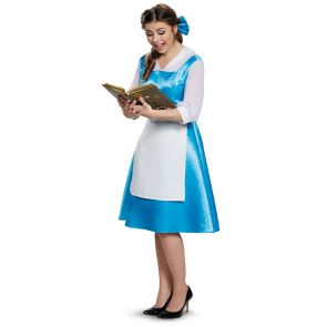 Belle Blue Dress Adult