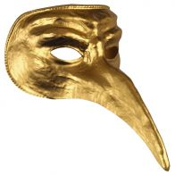Gold Venetian Adult Mask