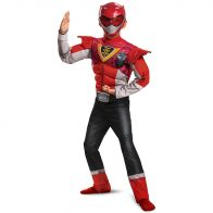 Red Ranger Power Up Mode Classic Muscle
