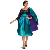 Queen Anna Dress Deluxe Adult