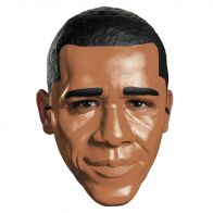 Obama Vacuform Half Mask