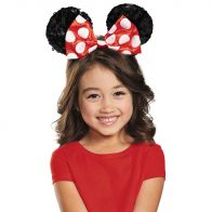 Red Minnie Child Sequin Ears