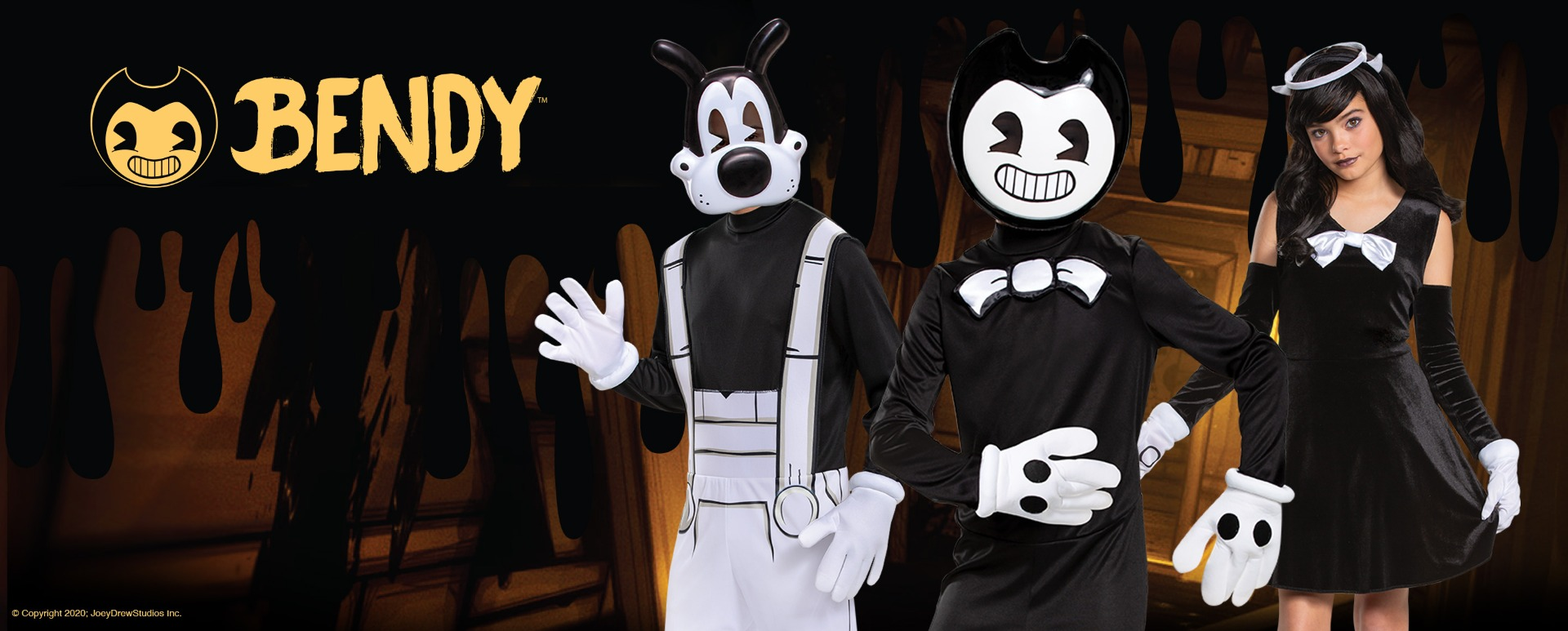 Bendy and the Ink Machine costumes