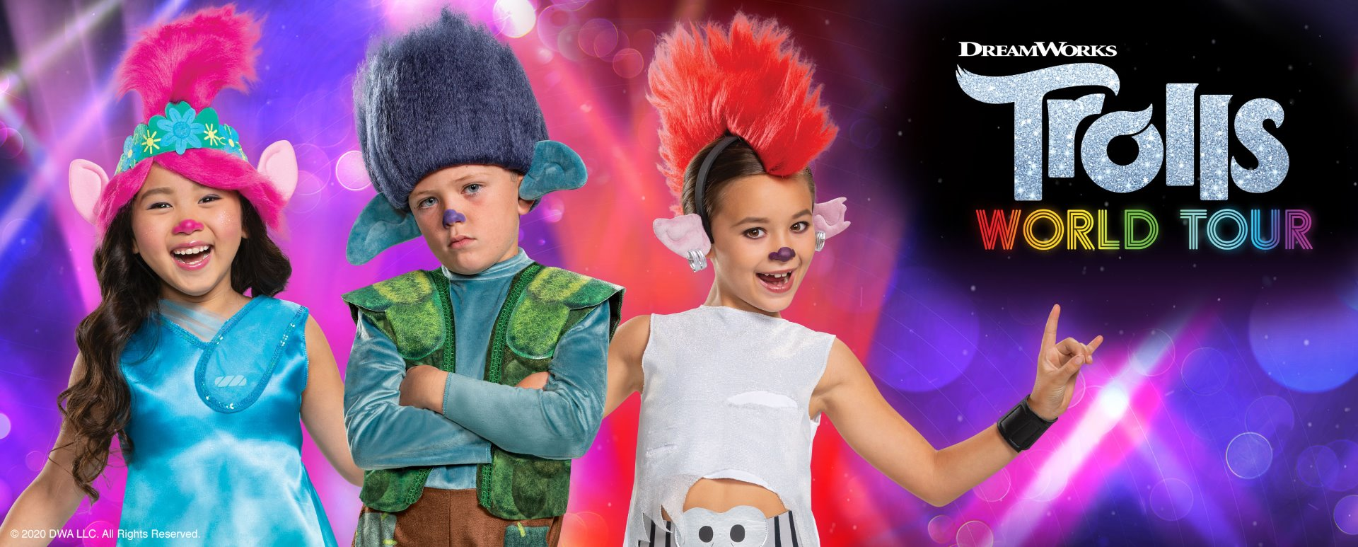 Trolls World Tour costumes
